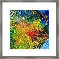 Contempo Eight Framed Print