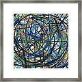 Contemporary Art Seventeen Framed Print