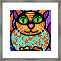 Contented Cat Framed Print