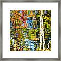 Contorted Clarity Framed Print