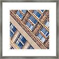 Contrasts - Period Architecture Of Asheville North Carolina Framed Print by Mark E Tisdale
