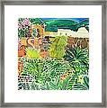 Convent Gardens Antigua Framed Print