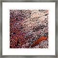 Copperspill Framed Print