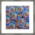 Coral Escaping Framed Print