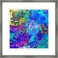 Coral Reef Fantasy Framed Print