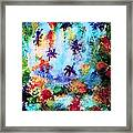 Coral Reef Impression 16 Framed Print