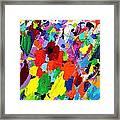 Cornucopia Of Colour I Framed Print