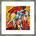 Corrida - Matador Framed Print