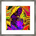 Cosmic Egg - Golden Framed Print by Colleen Cannon