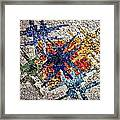 Cosmic Mosaic Framed Print