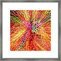 Cosmic Phenomenon Or Christmas Lights Framed Print