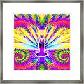 Cosmic Spiral Ascension 09 Framed Print