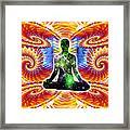 Cosmic Spiral Ascension 10 Framed Print