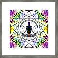 Cosmic Spiral Ascension 14 Framed Print