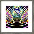 Cosmic Spiral Ascension 16 Framed Print