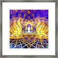 Cosmic Spiral Ascension 18 Framed Print by Derek Gedney