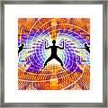 Cosmic Spiral Ascension 19 Framed Print
