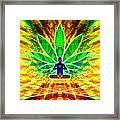 Cosmic Spiral Ascension 34 Framed Print