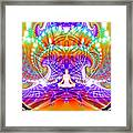 Cosmic Spiral Ascension 60 Framed Print