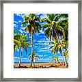 Costa Rican Paradise Framed Print