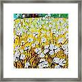 Cotton Fields Back Home Framed Print by Eloise Schneider