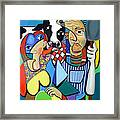 Country Cubism Framed Print