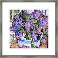 Country Lilacs Framed Print by Sherri Crabtree
