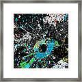 Crash Of The Eye Galaxy Framed Print