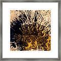 Crater Framed Print
