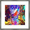 Creation Of Stars Framed Print