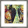 Creche Angels 5 Framed Print