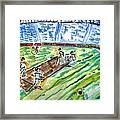 Cricket-day Framed Print