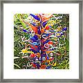 Cristal Garden 2 Framed Print