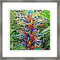 Cristal Garden Framed Print