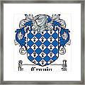 Cronin Coat Of Arms Irish Framed Print