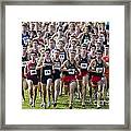 Cross County Race Framed Print