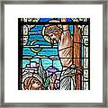 Crucifixion Of Christ Framed Print by Mountain Dreams