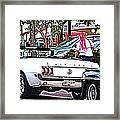 Cruise Line Framed Print