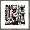 Cruisin The Canals Framed Print