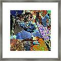 Crying Love   In Mysterious Tears Framed Print