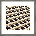 Cubicles Framed Print by Raul Rodriguez