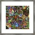 Night Market - Outdoor Markets Of New York City Framed Print