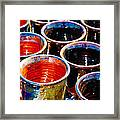 Cups Framed Print
