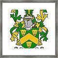 Curdy Coat Of Arms Irish Framed Print