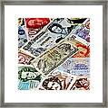 Currencies Framed Print
