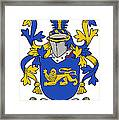 Currie Coat Of Arms Irish Framed Print