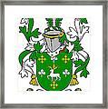 Curtin Coat Of Arms Irish Framed Print