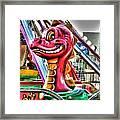 Cute Lil Dragon Framed Print