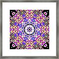 Cymatic Gateway Framed Print