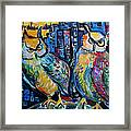 Cynical Hooters  Framed Print